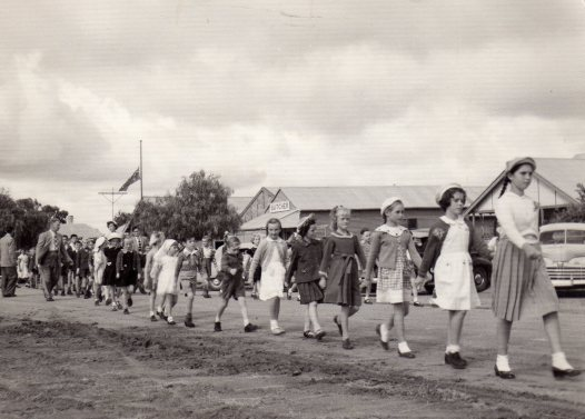 Anzac Day circa 1955