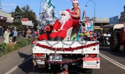Christmas street parade